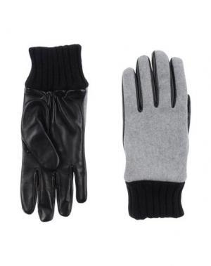 Перчатки MSGM. Цвет: серый