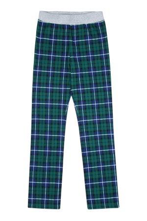 Хлопковые брюки для мальчика MIKI HOUSE. Цвет: разноцветный