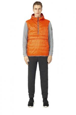 Куртка-анорак URBAN TIGER. Цвет: оранжевый