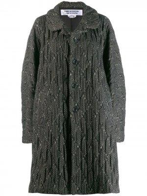 Пальто оверсайз Comme Des Garçons. Цвет: черный