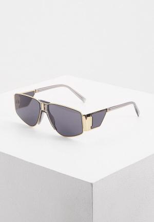 Очки солнцезащитные Givenchy GV 7166/S 2F7. Цвет: золотой