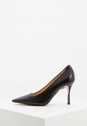 Туфли Furla. Цвет: черный
