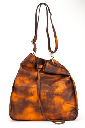 Сумка LE CAMP. Цвет: коричневый