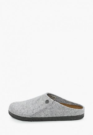 Мюли Birkenstock Zermatt Standard WZ Light Grey Regular. Цвет: серый