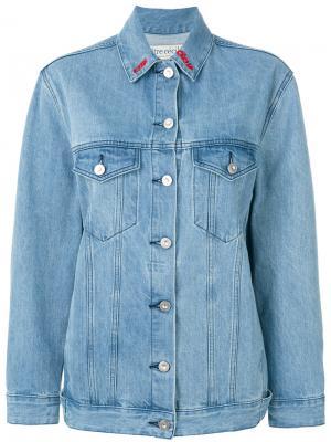 Джинсовая куртка Nouvelles Être Cécile. Цвет: синий
