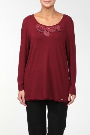 Блузка CHALOU. Цвет: красный