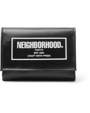 Бумажник NEIGHBORHOOD. Цвет: черный