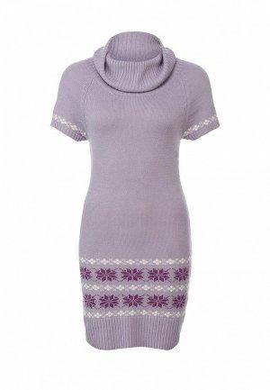 Платье LeMonada LE005EWET185. Цвет: сиреневый