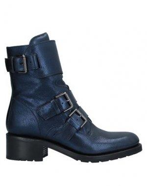 Полусапоги и высокие ботинки FREE LANCE. Цвет: темно-синий