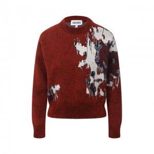Пуловер Kenzo. Цвет: красный