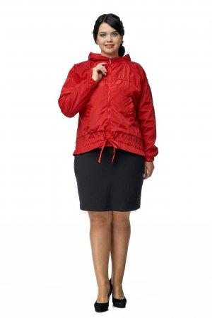 Ветровка женская из текстиля с капюшоном МОСМЕХА