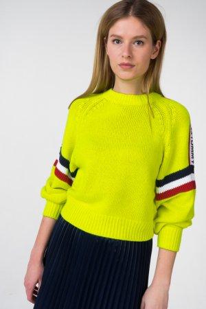 Пуловер Tommy Jeans. Цвет: желтый