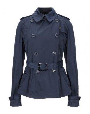 Легкое пальто BLAUER. Цвет: темно-синий