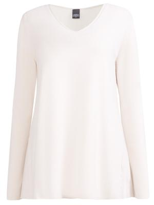 Кашемировый пуловер Lorena Antoniazzi. Цвет: разноцветный