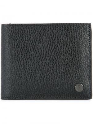 Складной кошелек Gieves & Hawkes. Цвет: чёрный
