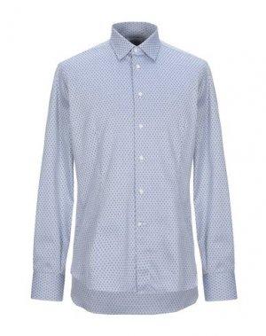 Pубашка BRANCACCIO. Цвет: светло-серый