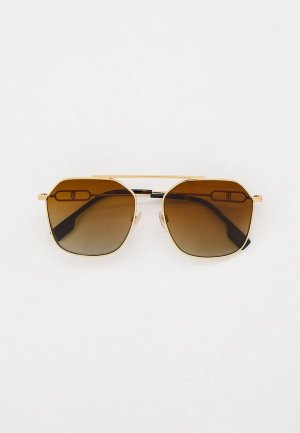 Очки солнцезащитные Burberry BE3124 1109T5. Цвет: золотой