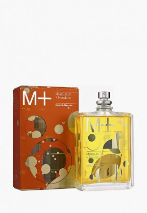 Туалетная вода Escentric Molecules M+ Molecule 01 + Mandarin EDT 100 мл. Цвет: прозрачный