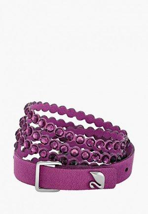 Браслет Swarovski® ImpulseP. Цвет: фиолетовый