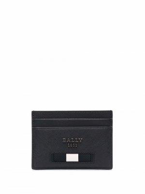 Картхолдер с логотипом Bally. Цвет: черный