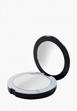 Зеркало Bespecial карманное с подсветкой и зарядкой для телефона