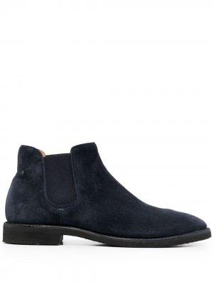 Ботинки челси Alberto Fasciani. Цвет: синий
