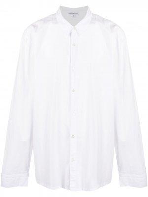 Рубашка с длинными рукавами James Perse. Цвет: белый