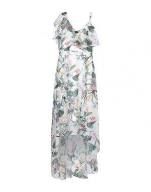 Длинное платье LIPSY. Цвет: белый