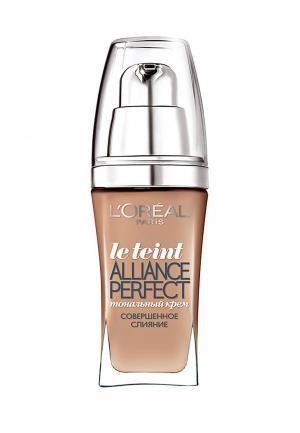 Тональный крем LOreal Paris L'Oreal Alliance Perfect, Совершенное слияние, выравнивающий и увлажняющий, оттенок R3, 30 мл. Цвет: бежевый