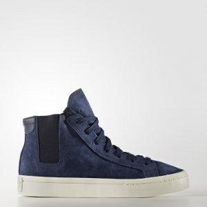 Кроссовки-слипоны CourtVantage Originals adidas. Цвет: белый