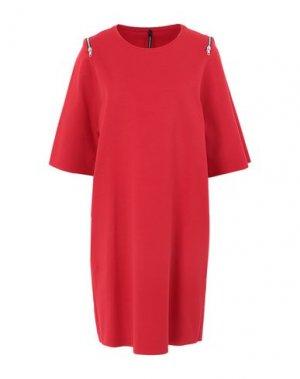 Короткое платье PIERANTONIO GASPARI. Цвет: красный