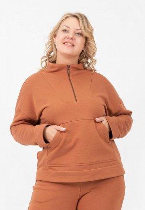 Олимпийка Космея. Цвет: коричневый