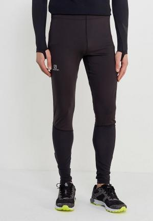 Тайтсы Salomon AGILE LONG TIGHT M. Цвет: черный