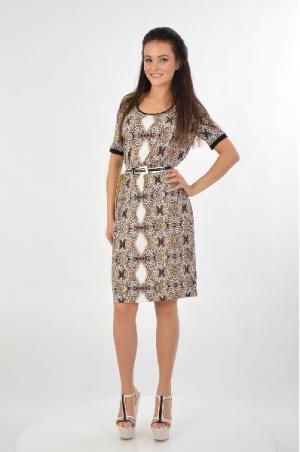 Платье Angelo Marani. Цвет: коричневый