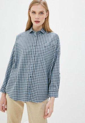 Рубашка Naumi. Цвет: голубой