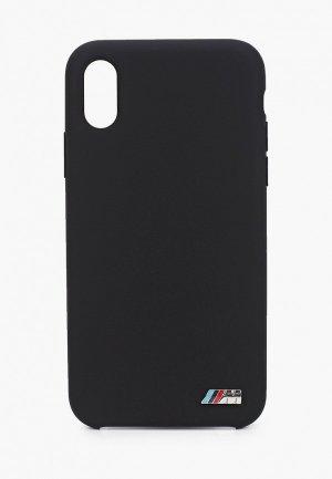 Чехол для iPhone BMW X / XS, M-Collection Liquid silicone TPU Black. Цвет: черный