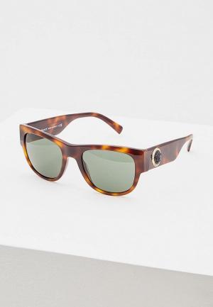 Очки солнцезащитные Versace VE4359 521771. Цвет: коричневый