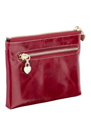 Wallet WOODLAND LEATHERS. Цвет: red