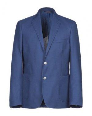 Пиджак ALESSANDRO GILLES. Цвет: ярко-синий