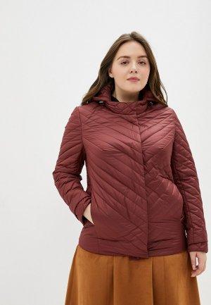 Куртка утепленная Montserrat. Цвет: бордовый