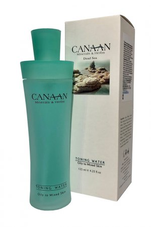Тоник на водной основе Canaan. Цвет: голубой
