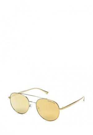 Очки солнцезащитные Michael Kors MK1021 11687P. Цвет: золотой