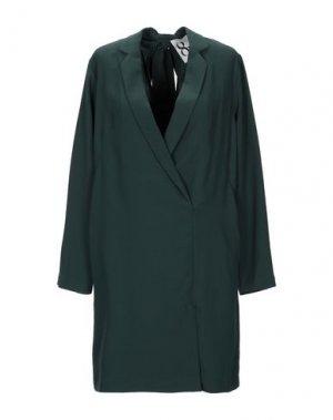 Короткое платье 8PM. Цвет: темно-зеленый