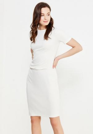 Платье Levall. Цвет: белый