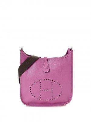 Сумка через плечо Evelyne II PM pre-owned Hermès. Цвет: розовый