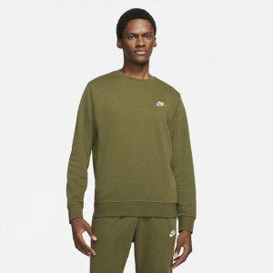 Мужской свитшот из ткани френч терри Sportswear Club - Зеленый Nike