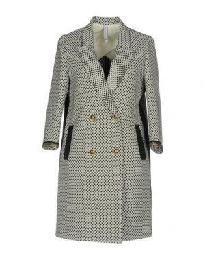 Легкое пальто PIANURASTUDIO. Цвет: черный