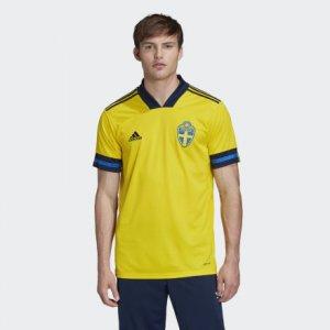 Домашняя футболка сборной Швеции Performance adidas. Цвет: желтый