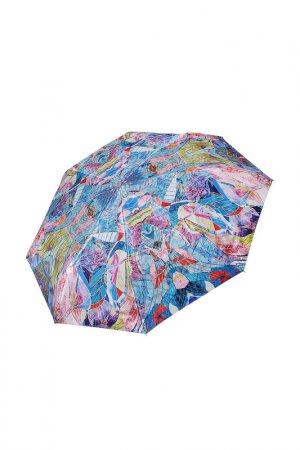 Зонт Fabretti. Цвет: зеленый