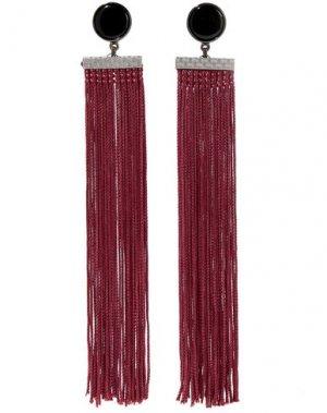 Серьги BEN-AMUN. Цвет: красно-коричневый